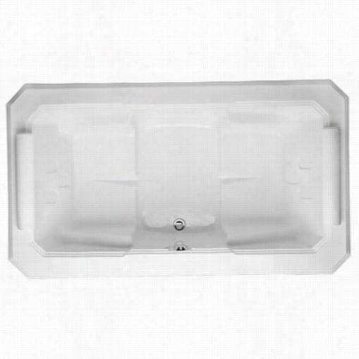Hydro Systems Mys7844aco Mystiqe 7844 Acrylic Tub With Combo  System