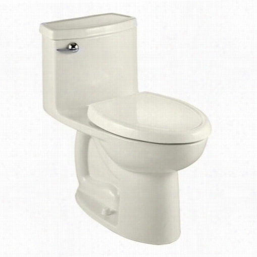 American Standard 2403.128.222 Compact Cadet 3 Flowise One Piece Toilet In Linenw Ith Seat
