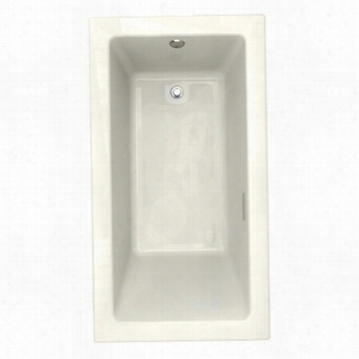 "American Standard 2939.268c.222 Studio 66"""";x36"""" Everclean Air Bath In Linen With Left Hand Drain"