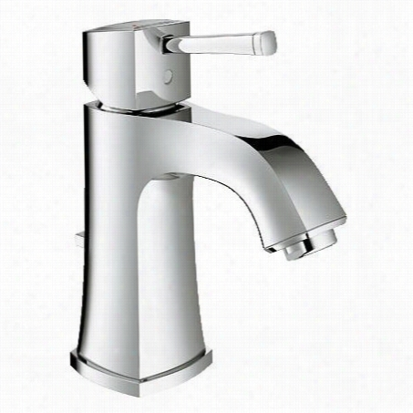 Grohe 23311 Grandera Single Handle Single Hole Bathroom Faucet Withsilkmove Cartridge And Pop-up Darin Assembly