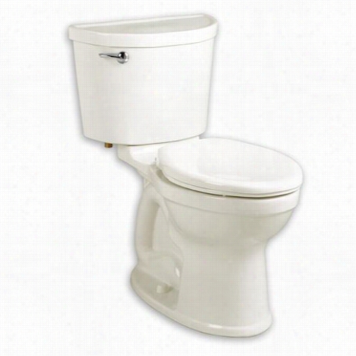 Americzn Standard 211ca005.020 Champion Pro Elongated 1.6 Gpf Toi Let In White With Right Trip Lever Placement