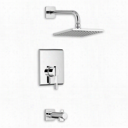 American Standard T184501 Periods Square Shower Only Dress Kit