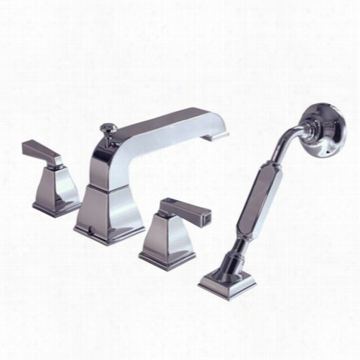 American Standard 2555.990 Town Square Tub Filler With Evercleann