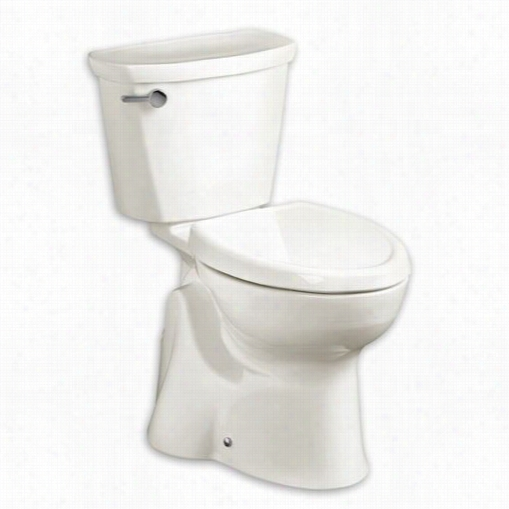 American Standard 215ag107ls.020 Accesspro Right Height Elongated Toilet In White With Left Lateral Adjuustment