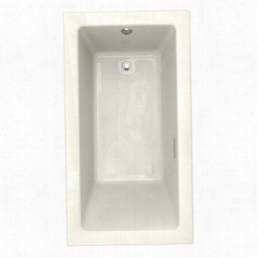 "American Standard 2939.168c.222 Studio 66""""x36""""  Verclean Gas Bbath In Linen Wiith Right Hand Make Dry"