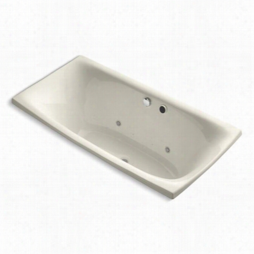 Kohler K-11343-gcr Escale Bubblemassage Acrylic Bath Upon Chromayhreapy,122 Airjetts