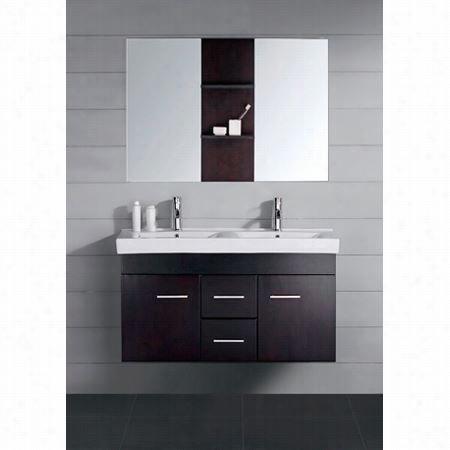 Curiosities Uas Um-3067 Opal Es Presso Double Sink Bathroom Vnaity  - Vanity Top Included
