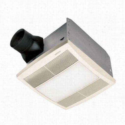 Broan Qtre110flt Ultra Silent, Bathroom Fan And Ligh T
