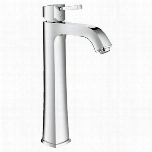 Grohe 23314 Grandera Single Handle Single Holev Essel Bathroom Faucet With Silkmove Cartrirge