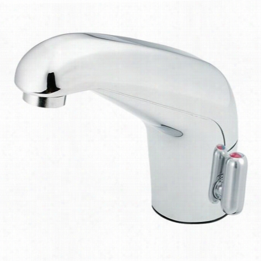 Moen Ca8308 M-power Bathroom Faucet With Sensor, Manual Override, And A/c Power In Chrome