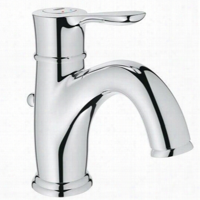 Grohhe 23305 Parkfield Single Hole Bathroom Faucet With Escutcheon