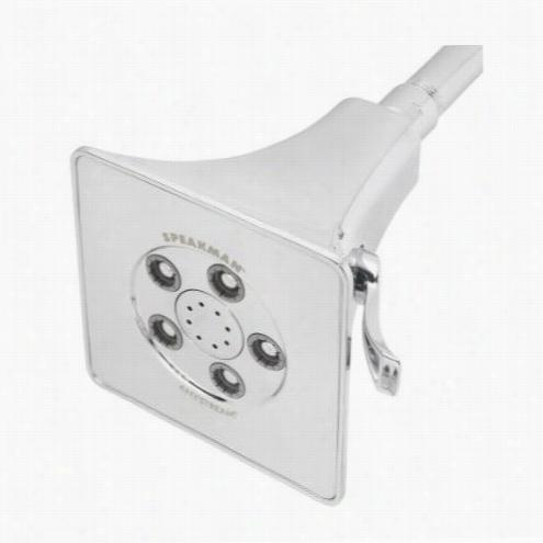 Speakman S-3018-e2 Anystream Rainjer 2.0 Gpm Multi Function Showerhead In Polished Chrome