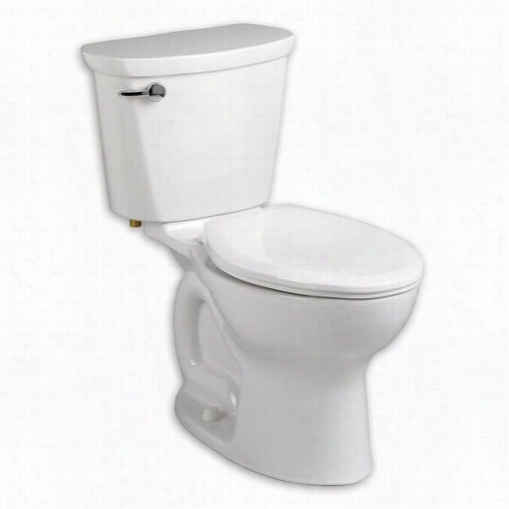 "American Standard 215cb104.020 Cadet Pro 10"""" Rough In 4.8 Lpf Elongated Toilet"