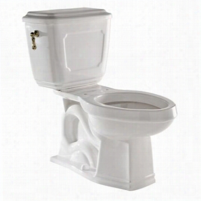Rohl U.kit133-tcb Victorian Elongated Clos Couled Water Closet In Tuscan Barss