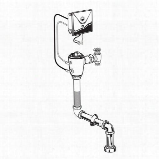 American Satndard 6065223 007 Selectroni Concealed Top Spud Toilet
