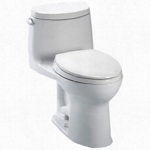 Toto Ms604114cefrg-01 Ultramxa Ii One- Piece Toilet, 1.28gpf Rgiht Hand Trip Lever