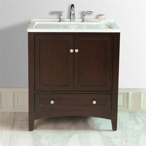 """Stufurhome Gm-y01e Xpresso 30-1 /2quo;t"""" All In One Laundry Sngle Sink Vanity - Vanity Top Included"""