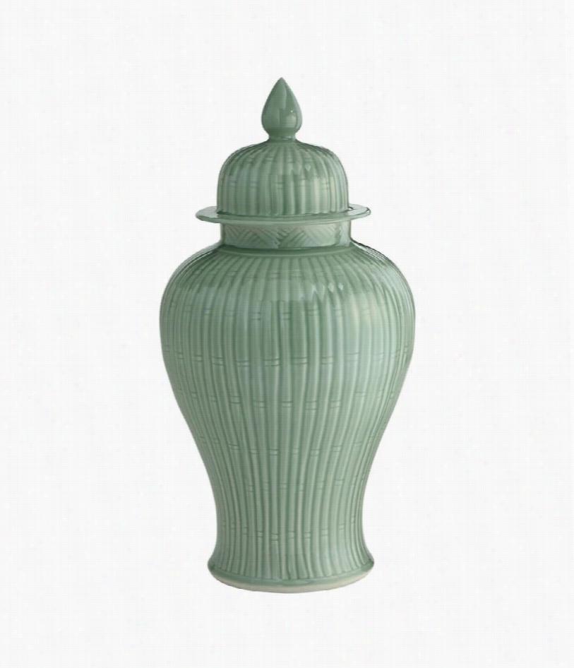 """24"""""""" Sakai Porcelain Giner Jar - Celadon"""