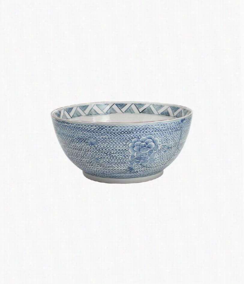Osaka Porcelain Bowl - Light Blue