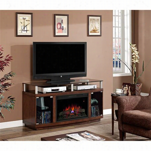 Clssic Flame 6mm9405-w324 Drew Electric Fireplace Mesia Cabinet In Aautumn Birch