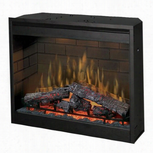 """Dimplex D3015 30""""quot; Se Lf-trimming Plugi-n Firebox By The Side Of Log Set"""