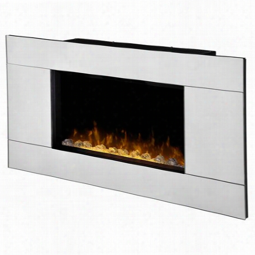 Dimplex Dwf24a-1329 Reflection S Wall Mount Leectric Fireplace In Mirror
