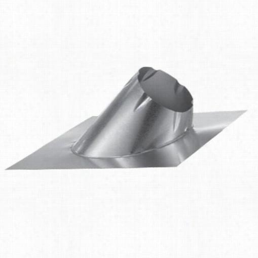 M&g Duravent 6dt-f1l  Axj.roof Flashing 45 Degree 7/12 - 12/12 (abundant Base)