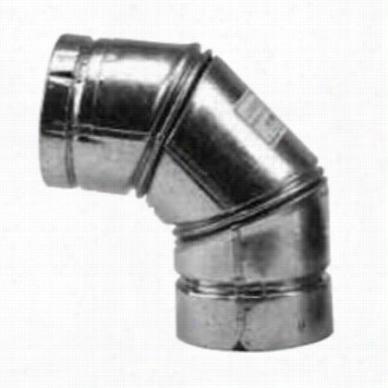 Metalbest 244230 90 Elbow Vp Pellet Vent 4in  Diameter