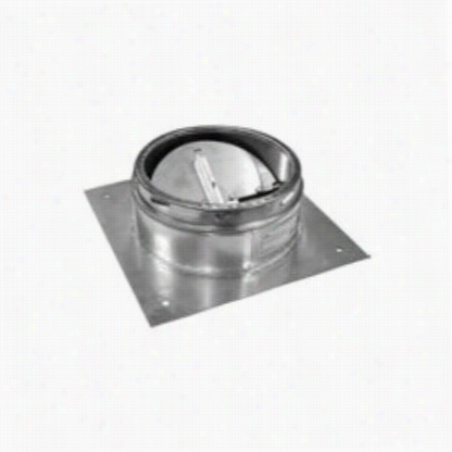 """Metalbest 24s-apd Sure-temp 24"""""""" Class A Chimney Pipe Anchor Plate With Damper"""