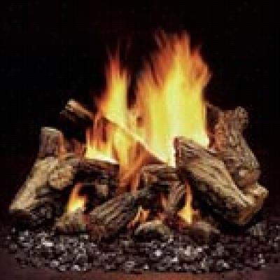 Monessen Vdy30d5 Duzy 8 Piece Fiber Ceramic Log Set With Vdy30 Vented Burner Assembly
