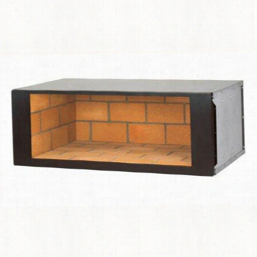 """Superior Firepla Ces Dhs-42 42"""""""" Under Hearth Mosaic Wood Nook With Brick"""