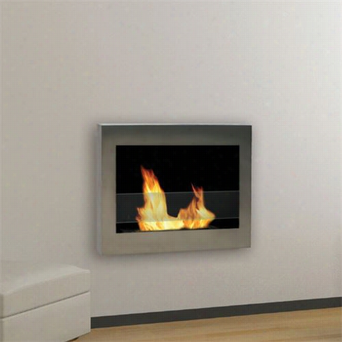 Anywhere Fireplace 902 Soho Indoor Wall Mojnt Vent Free Fireplace
