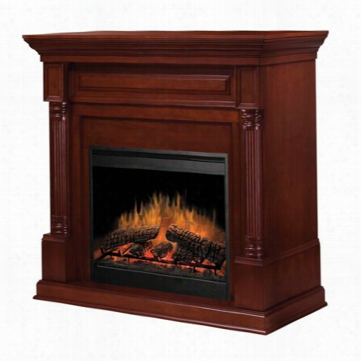 """Dimplex Dfp8930bw Timothy 30&quoot;"""" Electricc Fireplace In Burnished Walnut"""