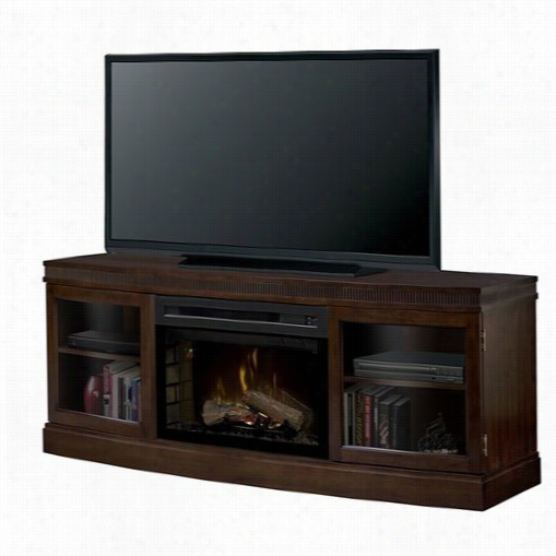 Dimplex Gds25hl-1021bw Wickford Lightning-like Fireplace Media Solace In Burnished Walnut With Realogs