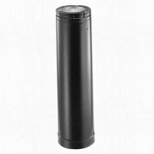 M&g Duravent 46dva-06b 6 In Venting Pipe Black 4 In X 6 5/8 In Directven T Pro