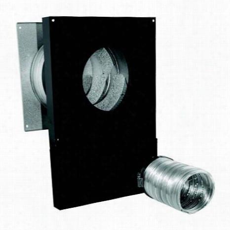 "M&g Duravent 4cas-wtpk Cas 4"""" Pellletvent Pro Combusti On Air Wall Thimble Kit"