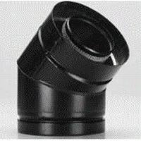 Metlabest 1605215 45 Degree Elb0w Direct Temp 5 X 8in Pipe