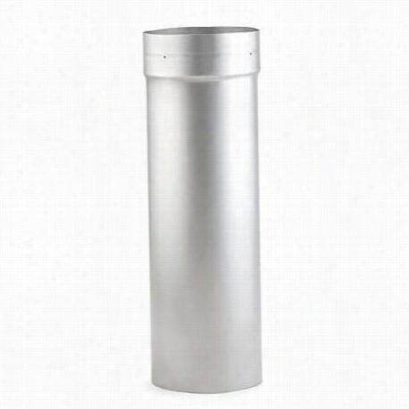 "Metalbest 3502ar Saf T Liner 316 5"""" X 12"""" Chimney Liner In Stainless Steel"