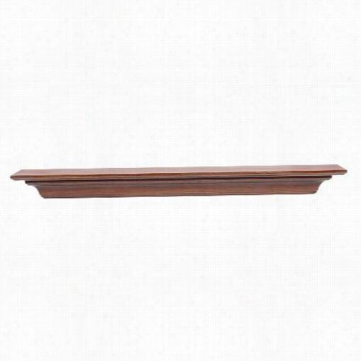 "Pearl Mantels 418-48-90 Hommestead 48""&uqot; Wood Wall Shelf In Antique Birch"