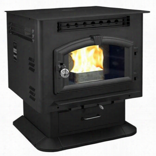 United States Stove Compay 6041 2,000 Sq. Ft. Pellet/salt Moderately Pedestal Stove With Igniter