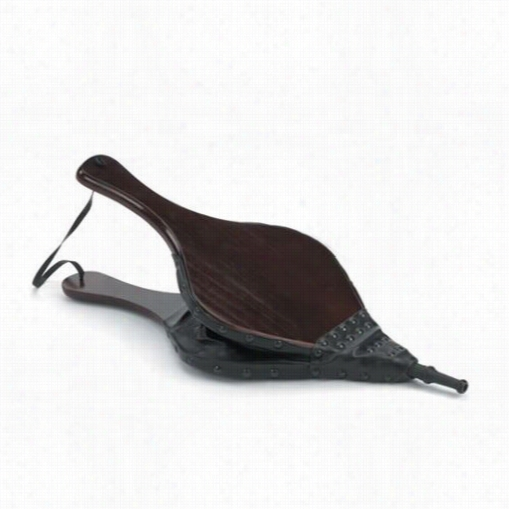 Woodfield 61064 Wood Bellows With Vinhl Trim In Dark Stained