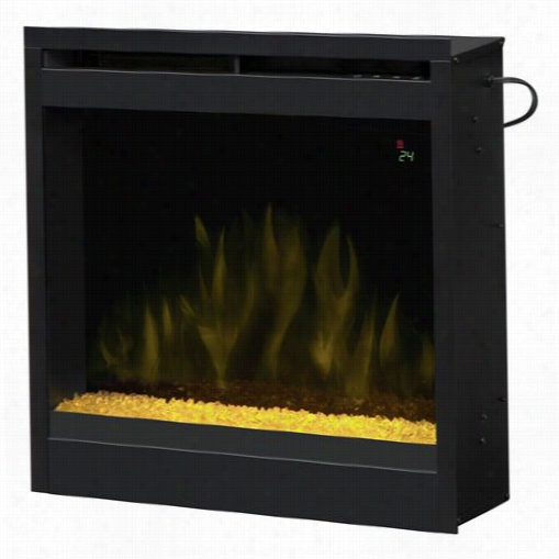 """Dimplex D2024cr 25"""""""" Electric Firebox With Crystal Ember Bed"""