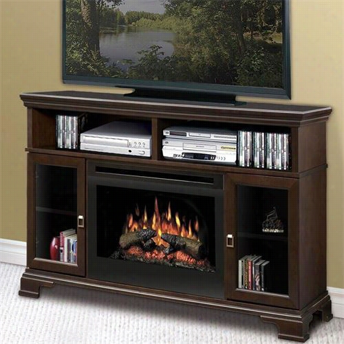 Dimplex Gds25 Brookings Media Console Eldctriic Fireplace Withh Log Set