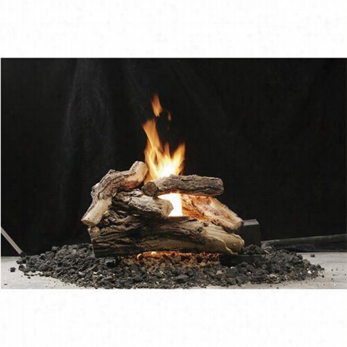 """Kingsman Vsb18 18"""""""" Vented Gas Log Ash Bed Burner"""
