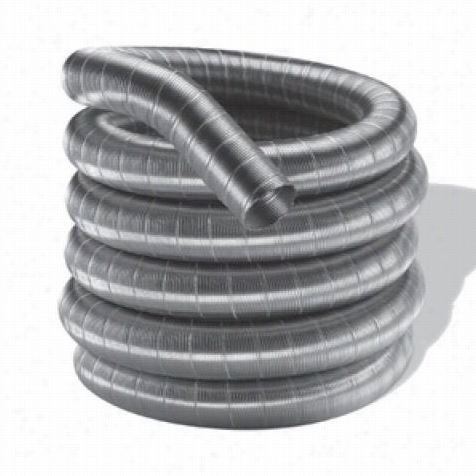 M∓ G Duravent 3df304- 15 3' X 15' Singl Ewall Pipe Length In Stainless Steel