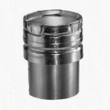 "M&g Duravent 3gvc Round Ga Ve Nt 3"""" Inner Diameter Aluminum Draft Hoodc Onnector"