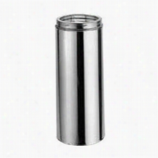 """M&g Duravent 7dt-48 Duratech 7"""""""" X 48"""""""" Galvanized Class A Double Wall Chimney Pipe Length"""