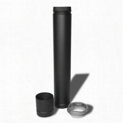 Mtalbest 266610 Evrtical Installation Kit Dsp Double Wall 6in Stove Pipe