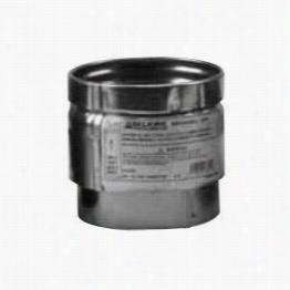 """Metalbest 4vp-apc 4"""""""" Vp Pellet Pipe Adjustable Pipe Connnector"""