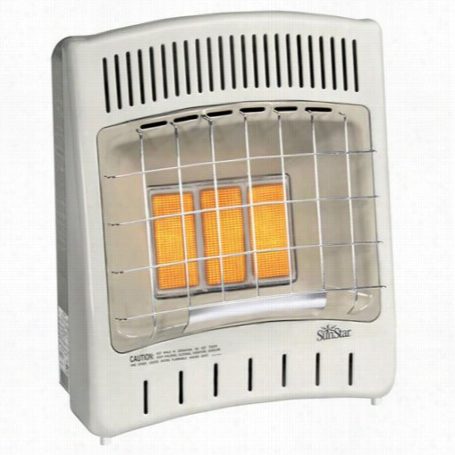 "Sunstaf Sc18t-1-lp 19-3/4""""w Thermostat Infrared Radiant Heater"